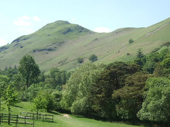 Catbells Lakeland Walk: Catbells Mountain,Keswick,Lake District.