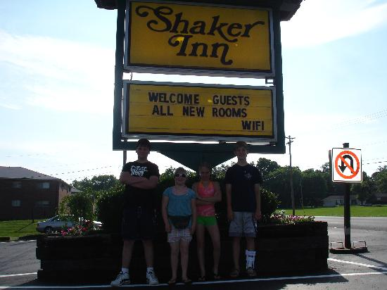 The Shaker Inn: had to take picture, so I remembered this place