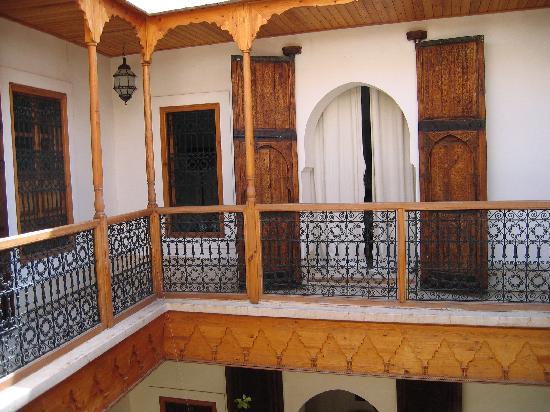 Riad Djebel: Door to our room