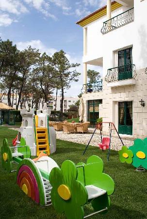 Hotel Dom Vasco : Jardim