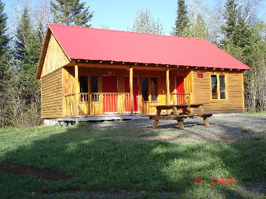 Chalets Restigouche : cabin