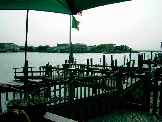 Stone Harbor, NJ: Nice outdoor seating