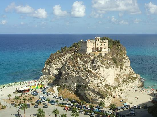 Hotel Santa Lucia: view from Tropea