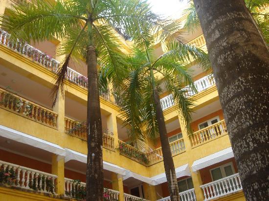 Charleston Cartagena Hotel Santa Teresa : vista habitaciones interiores