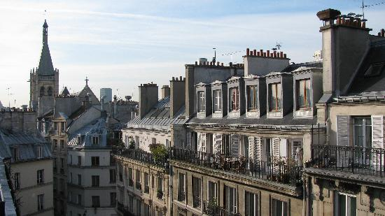 Hotel Royal Saint Michel: View from the room