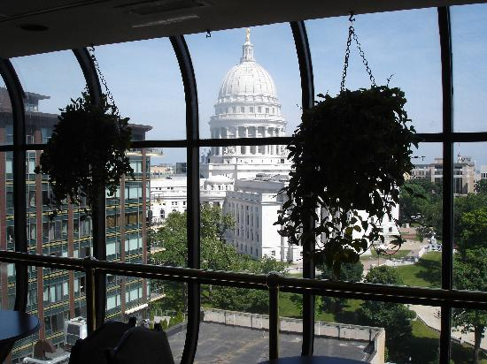 Madison Concourse Hotel and Governor's Club: View from Governor's Club