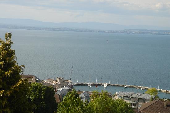 Evian-les-Bains, Prancis: vue