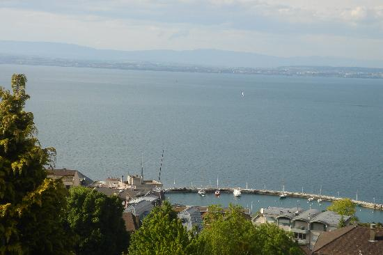 Evian-les-Bains, Frankrike: vue