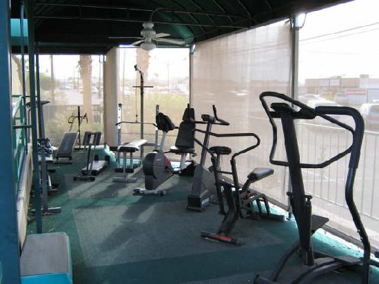 Havasu Sands All Suite Resort: Exercise Equipment