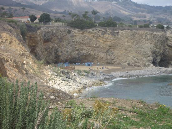 Terranea Resort: private beach