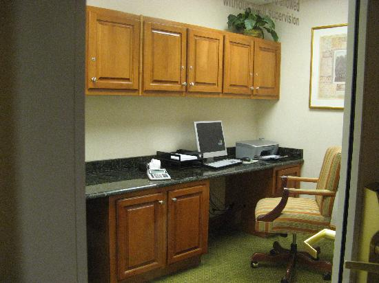 Hampton Inn and Suites Lake City: Business Center