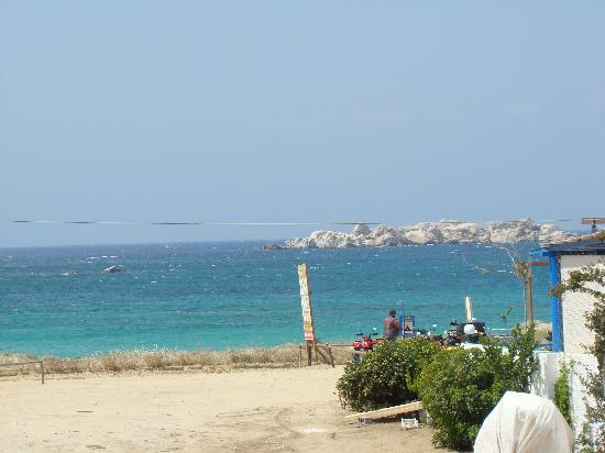 Plaka, اليونان: plaka beach