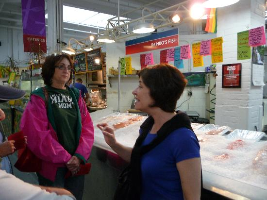 The Enthusiastic Gourmet: Susan explains the specialties at the Essex Market