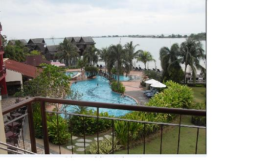 Langkawi Lagoon Resort: My balcony view