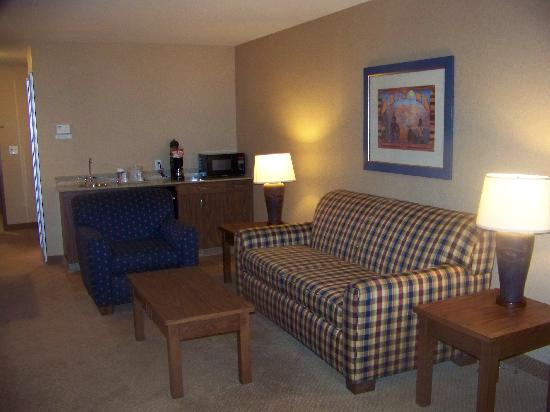 Holiday Inn Express Sierra Vista: King room with sofa bed