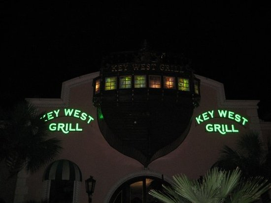 Key West Grill : front of restaurant