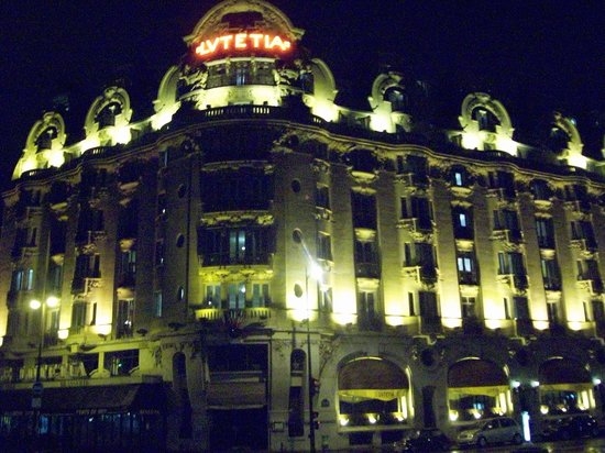 Le Lutétia : The Lutetia by night