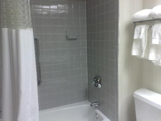 Hampton Inn Rochester: Renovated bathroom