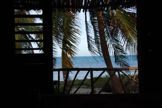 Ak'bol Yoga Retreat & Eco-Resort : View from sea front Cabana