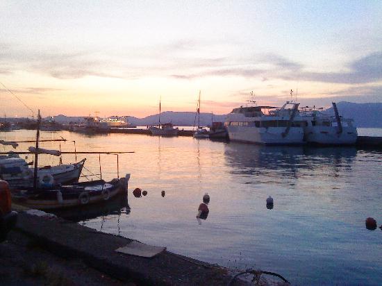 Sellas Hotel: Corfu Town Harbour