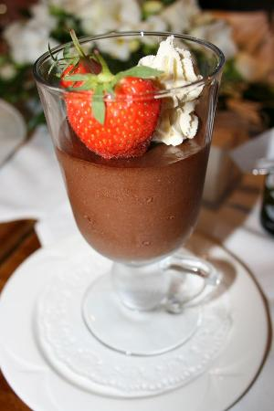 Island Diner : Tasty combination Chocolate and Baileys mousse