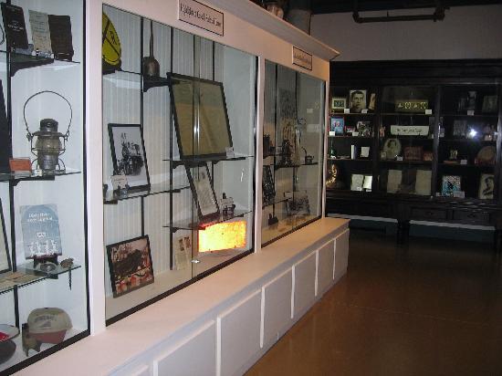 Casey Jones Village: Museum displays