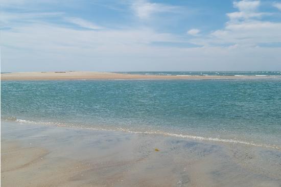 Harkers Island, Karolina Północna: A view from the cape