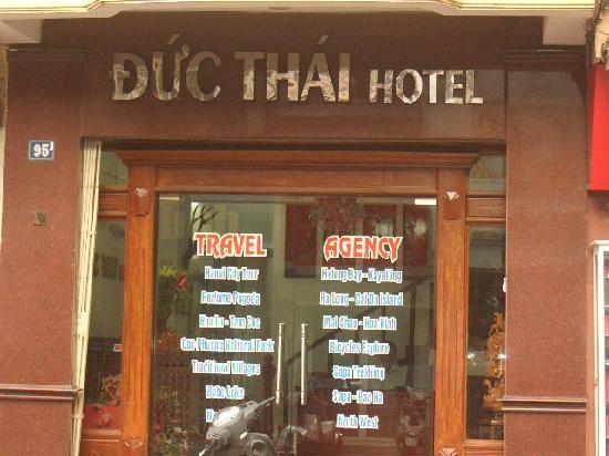 Duc Thai Hotel: the exterior