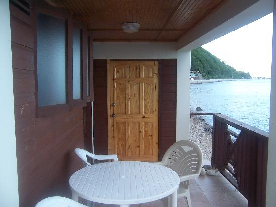 Nature Island Dive Resort: Gallette Cottage balcony