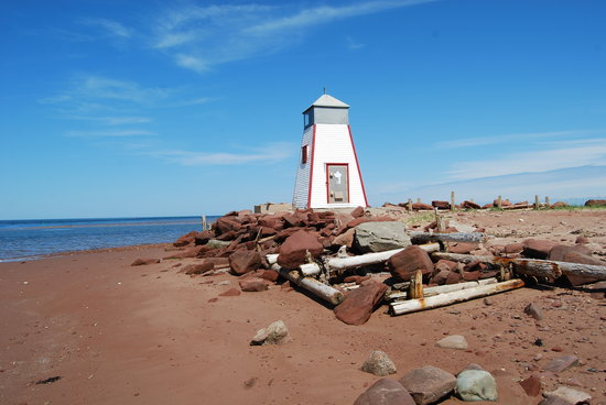 Île-du-Prince-Édouard, Canada : light house