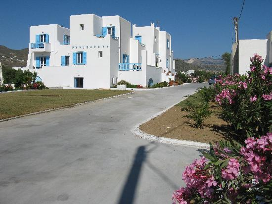 Princess of Naxos: Picture of the hotel.