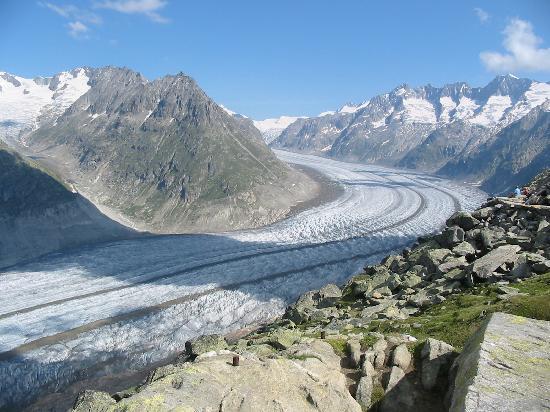 Hotel Slalom: Le glacier d'Aletch