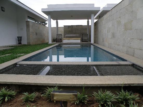 The Serai : The pool and the gazeboo