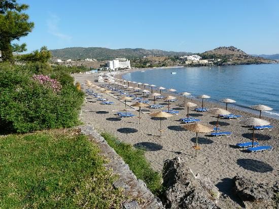 Lindos Mare Hotel : Beach View