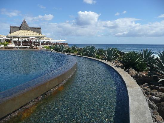 Club Med La Plantation d'Albion: La piscine calme...