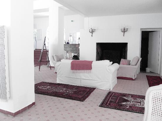 Hotel Les Mouettes : le hall très cosy