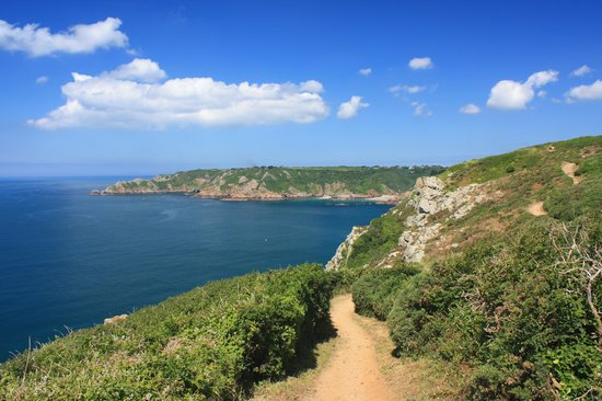 Γκουέρνσεϊ, UK: Guernsey: South Coast Cliffs