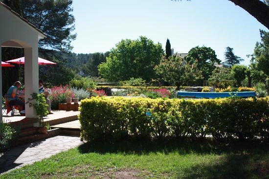La Soucarède : Garten, Terasse und Pool