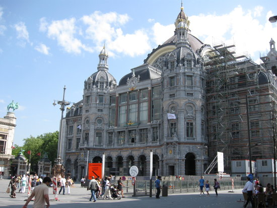 Antwerp, Belçika: Central  Station