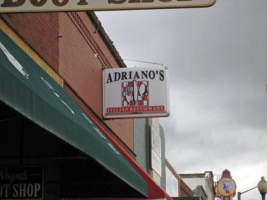 Adriano's Italian Restaurant: Adriano's Restaurant