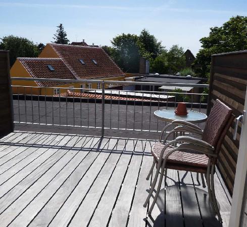 Hotel Skibssmedien Skagen: Hotel room, terrace