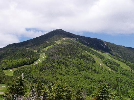 Ledge Rock at Whiteface: View from our balcony -- can't get much better than this