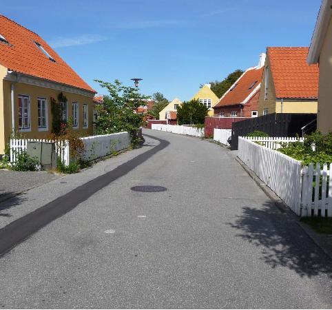 Hotel Skibssmedien Skagen: A street in Skagen