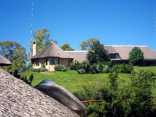uKhahlamba-Drakensberg Park, Zuid-Afrika: The reception lodge