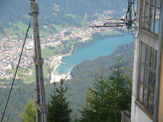 Auronzo di Cadore, Italia: auronzo dall'alto