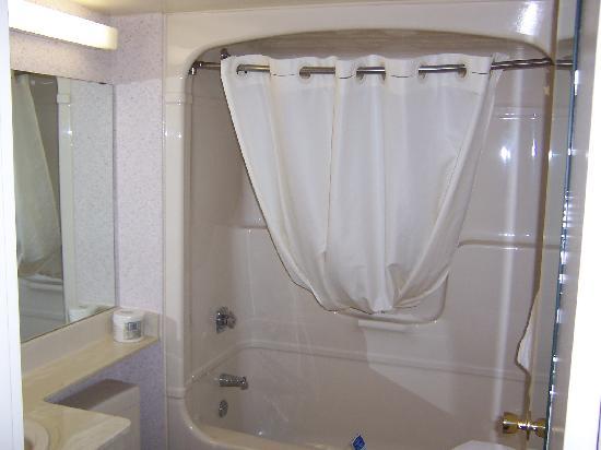 Comfort Inn Midland: Shower/Washroom.