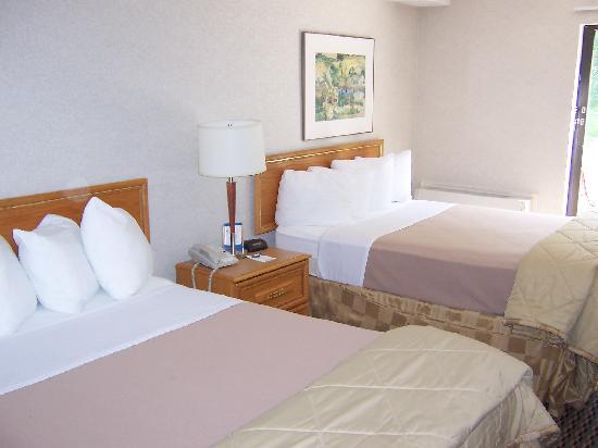Comfort Inn Midland: 2 Double Beds.