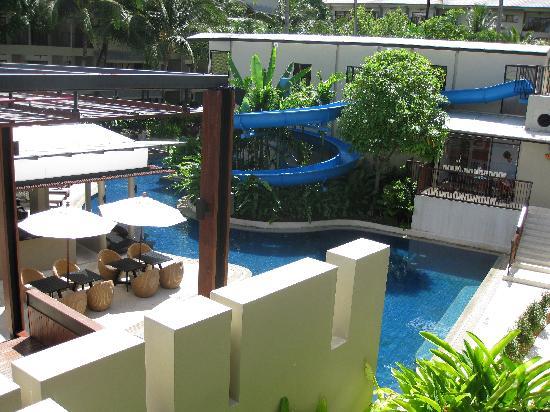 Novotel Phuket Surin Beach Resort.: The waterslide