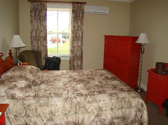 Bonavista, Canada: our room