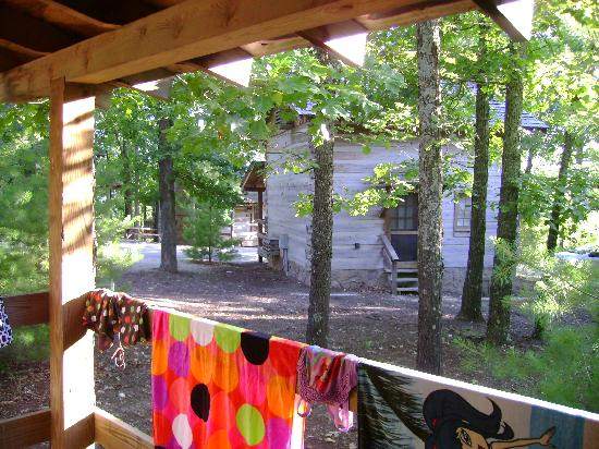 Silver Dollar City's Wilderness: View from back porch